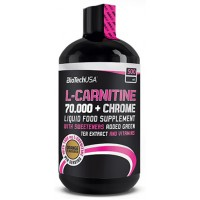 L-carnitine 70000 mg + Chrome 500 ml BioTech USA