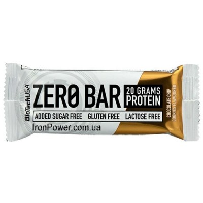Zero Bar 50 g BioTech USA