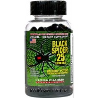 Black Spider 100 caps Cloma Pharma