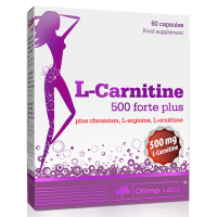 L-Carnitine 500 forte plus 60 caps Olimp Labs