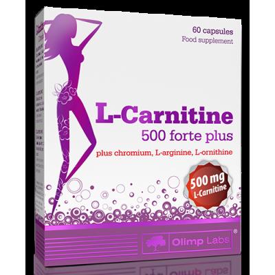 L-Carnitine 500 forte plus 60 caps Olimp Labs