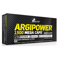 ArgiPower 1500 Mega Caps 120 caps Olimp Labs