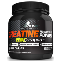 Creatine Monohydrate Powder Creapure 500 g Olimp Labs