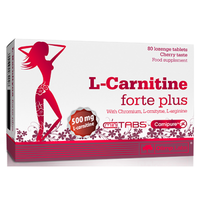 L-Carnitine 500 forte plus 80 tabs Olimp Labs